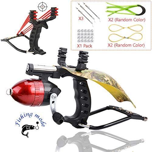 Blue Ra Fishing Hunting Slingshot Catapult Kit with Infrared Sight Fishing Reel Blue Ra Blue product image