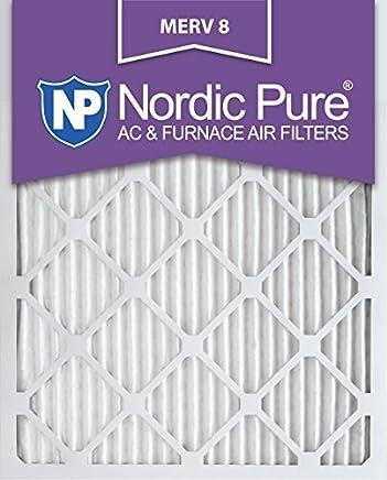 Nordic Pure 16x25x1M8-2 MERV 8 AC Furnace Filter 16x25x1 Pleated Merv 8 AC Furnace Filters Qty 2 [並行輸入品]