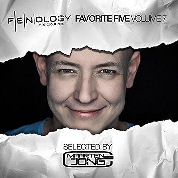 Fenology Favorite Five, Vol. 7 (Selected by Maarten de Jong)