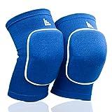 LAUTER SCHUTZ ® Rodillera de tejido transpirable con almohadilla para la rótula para voleibol,...