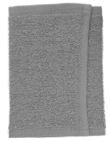 Fripac-Medis - Toalla facial (30 x 15 cm), color gris