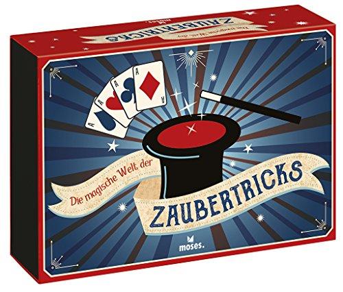 moses. - Die magische Welt der Zaubertricks | Geschenkbox | Inkl. Magic-Coin-Set
