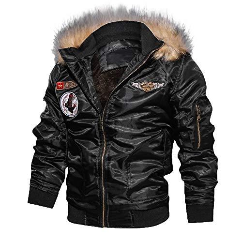 Bomberjack heren jongen lederen jas winterjas windbreaker FRAUIT heren vrije tijd overgang bomber jas jas jas buiten windbreaker hoogwaardig