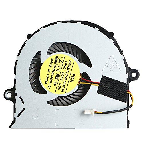 DXCCC - Ventola di Raffreddamento CPU per PC Portatile Acer Aspire E5-552 E5-571G E5-571 E5-471G E5-471 E5-473 E5-473G V3-572G E5-573 E5-573G P246