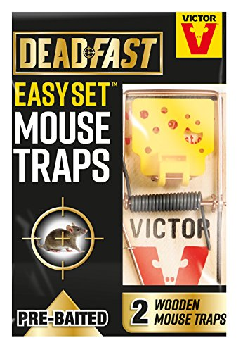 Deadfast Easy Set Mouse Trap, Twin P