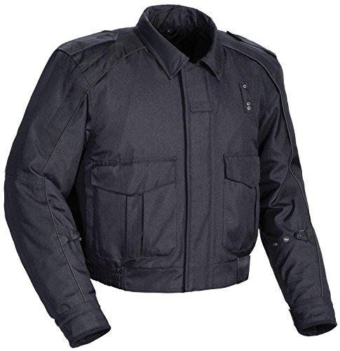 Tourmaster 'Flex LE 2.0' Mens Black Motor Officer Textile Jacket