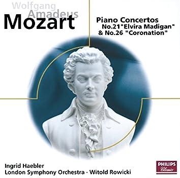 モーツァルト:ピアノ協奏曲第21&26番