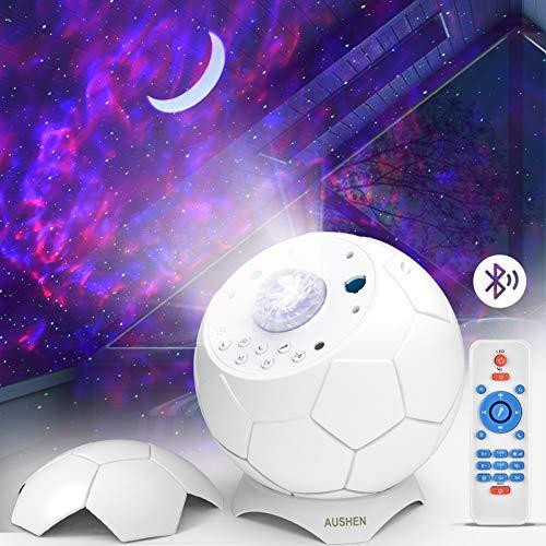 LED Sternenhimmel Projektor Lampe, 28 Lichteffekte Romantisches Sternenlicht Nebula Galaxy Lichtprojektor, LED Projektorlampe für Baby Kinder Schlafzimmer Heimkino Party Haus Dekor