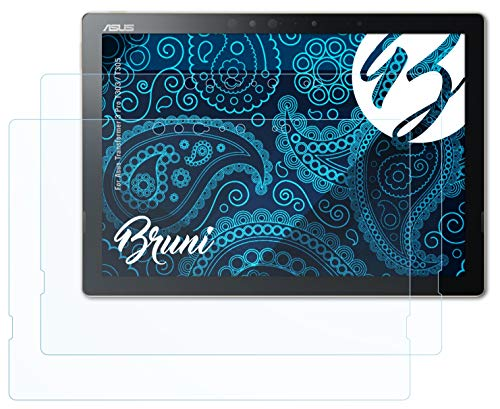 Bruni Schutzfolie kompatibel mit Asus Transformer 3 Pro T303 / T305 Folie, glasklare Bildschirmschutzfolie (2X)