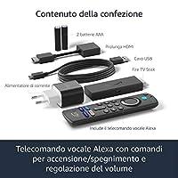 Fire TV Stick con telecomando vocale Alexa (con comandi per la TV) | Streaming in HD #4