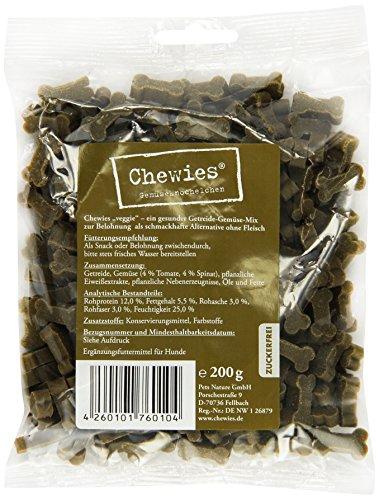 Chewies Hundeleckerli Gemüseknöchelchen 200 g (1 x 200 g)