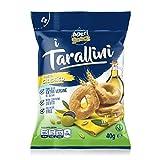 Aperisnack® - AP01.002.01 Tarallino Classico (40g x 80pz) Monoporzione Box. Snack Salati e Stuzzichini Ideali per l'Aperitivo e Le tue Feste