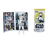 Star Wars Galaxy of Adventures Imperial Stormtrooper Enforcer 3.75' Action Figure and Mini Poster