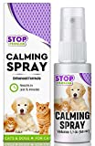 Beloved Pets Pheromone Calming Spray for Cats and Dogs(50ML) with Long-Lasting Effect - Enhanced Calm Formula of Anxiety Relief & Behavior Control - Best Natural Stress Prevention for Pets