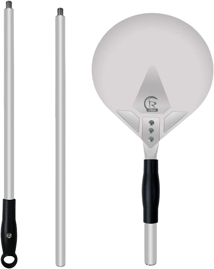 R LRUI Pizza sale Peel with detachable Max 40% OFF handle 3 of 18 adjustable and
