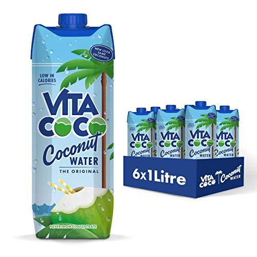 Vita Coco Acqua Di Cocco Naturale (1L) (Confezione da 6)