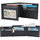 Travelambo Genuine Leather RFID Blocking...