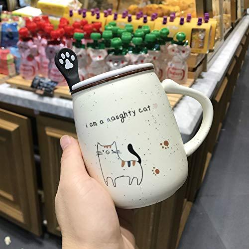 DONG Tasse Porzellan in grau marmoriert Jumbo-Tasse Kaffeetasse Teetasse Große Kaffeetasse Marmor-Geschenkidee, D, 401-500ml