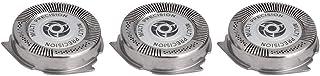 Samfox Barbeador de substituição, conjunto completo de cabeçote de lâmina para barbeadores Philips Norelco Series 5000 HQ8...