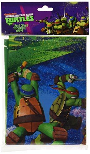 amscan 1,2x 1,8m Teenage Mutant Ninja Turtles Kunststoff Tisch Cover