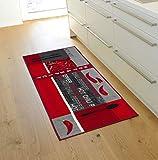 Andiamo 282565 Teppichläufer Küchenläufer Hot Pepper, Chili Schote, 67 x 200 cm, rot - 7