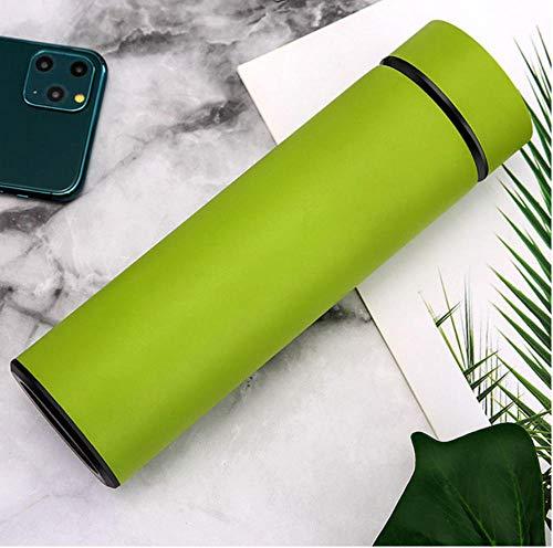NMML 500 ml Thermoskanne Edelstahl Thermoskanne Tee Vakuumflasche mit Deckel gegen Verbrühung Wärmflasche Reiseisolationstopf Kaffeetassen-4