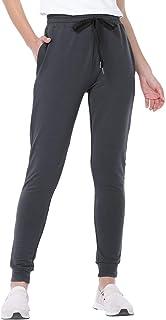JTANIB Jogger Pants for Women, Active Lounge Drawstring Waist Yoga Sweatpants with Pockets
