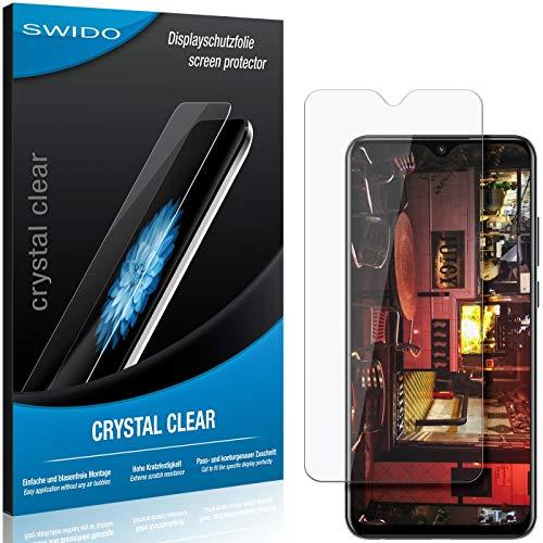 SWIDO Schutzfolie für Lenovo K6 Enjoy [2 Stück] Kristall-Klar, Hoher Härtegrad, Schutz vor Öl, Staub und Kratzer/Glasfolie, Displayschutz, Displayschutzfolie, Panzerglas-Folie