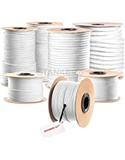 Seilwerk STANKE gevochten touw van polypropyleen ZWART zeilen touw, koord