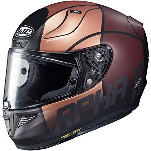 HJC RPHA 11 Pro Helmet - Quintain (Large) (Gold/Grey)
