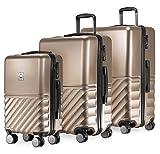 HAUPTSTADTKOFFER - Boxi - 3er Koffer-Set Trolley-Set Rollkoffer Reisekoffer TSA