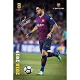 Official Licensed F.C Barcelona - Poster (Suarez #28)