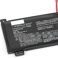 新品ノートパソコンバッテーYoga V330-15 V530-14 L17M2PB4 L17M2PB3 L17L2PB3 L17C2PB3 L17L2PB4 交換用PCバッテリー 電池互換4000mAh 30Wh (L17M2PB4)