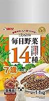(まとめ買い)サンライズ ゴン太の毎日野菜14種 7歳以上用 1.1kg SVE-004 犬用 【×3】