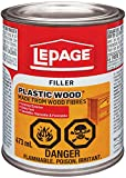 LePage Plastic Wood Filler, 473ml, Tan (1819160)