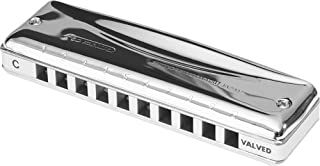 Suzuki MR-350V-HG Promaster Valved Deluxe 10-Hole Diatonic Harmonica, Key of G High