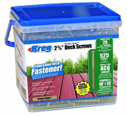 Kreg Protec-Kote Deck Screw