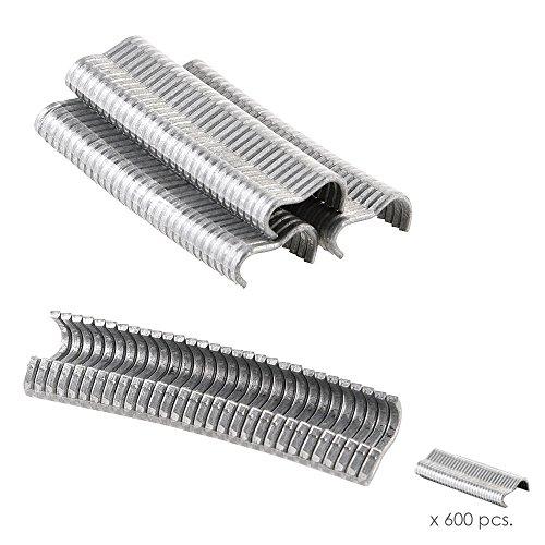 Grapas 18 mm. Para Grapadora Mallas (Caja 600 Unidades