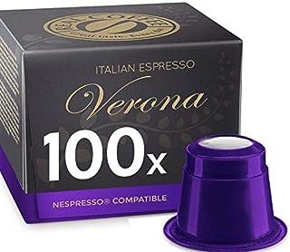 Italian Espresso Verona, 100 Capsules, by REAL COFFEE, Denmark
