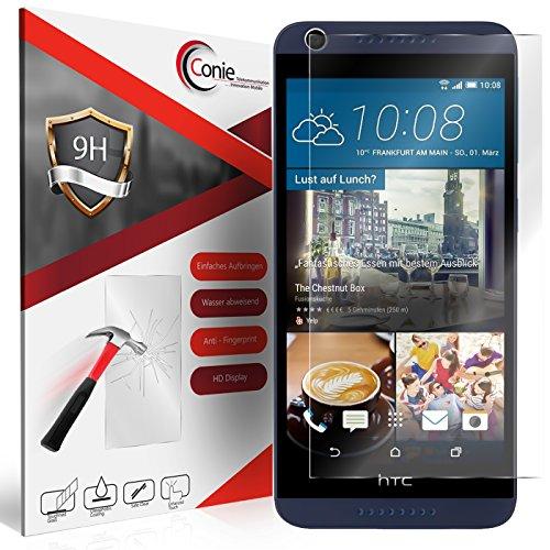 Conie 9H558 9H Panzerfolie Kompatibel mit HTC Desire 626 / 626G, Panzerglas Glasfolie 9H Anti Öl Anti Fingerprint Schutzfolie für Desire 626 / 626G Folie HD Clear
