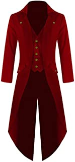 red frock coat men's
