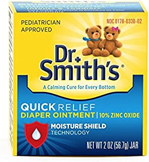 Dr. Smith's Diaper Ointment Dr. Smith's, 2-Ounce (Pack of 3)