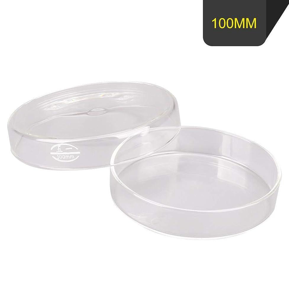 マーカーケープ花輪MewSann 植物/細胞/微生物培養皿 ペトリ皿 100mm ガラス製
