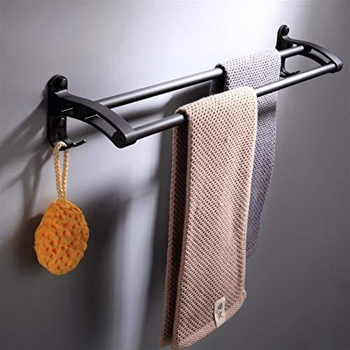 Los estantes del Cuarto de baño, Toallas, Titular Rieles Anillos, de Doble vástago de Toallas de Cocina Accesorios de baño