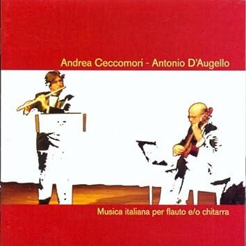 Musica Italiana per Flauto e/o Chitarra