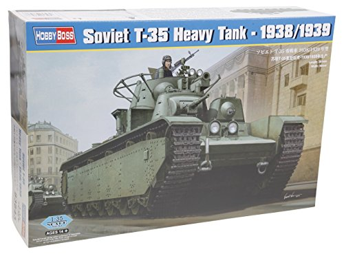 Hobbyboss 1:35 - Soviet T-35 Heavy Tank - 1938/1939