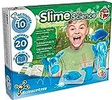Science4you - Premier Slime Kit - Fabrique de Slime Brille dans le Noire, Comprend 10 Experiences Scientifiques pour 8-14 Ans: Slime Moule à Poisson et Balle Rebondissante, Jeu Éducatif Enfants +8 Ans