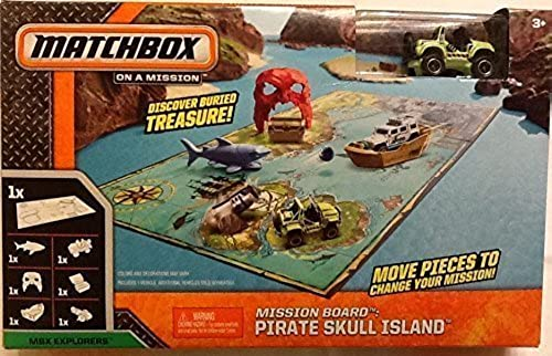muchas concesiones Matchbox on a a a Mission Pirate Skull Island Jeep by Matchbox  tiempo libre