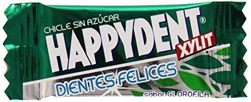 Happydent Clorofila, Chicle Sin Azúcar - 200 unidades