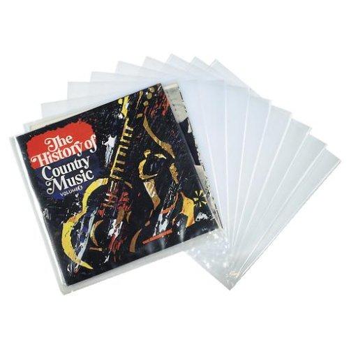 Hama LP-Außenhüllen, Transparent, 10 Stück